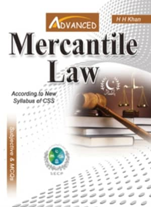 Mercantile Law By H H Khan