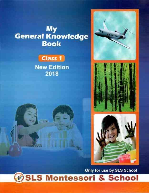 My General Knowledge Book Class 1 New Edition 2018