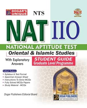 NTS National Aptitude Test NAT IIO Oriental And Islamic Studies Guide By Dogars