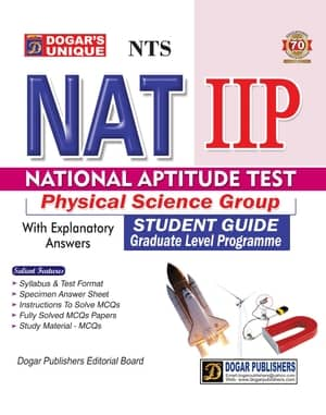 NTS National Aptitude Test NAT IIP Physical Science Group Guide By Dogars
