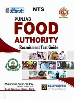 NTS Punjab Food Authority Recruitment Test Guide By Dogars