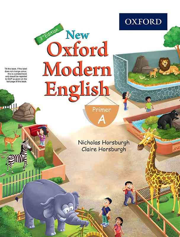 New Oxford Modern English Primer A 3rd Edition