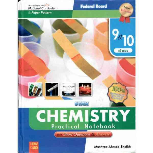New Star Chemistry Practical Notebook 9 and 10
