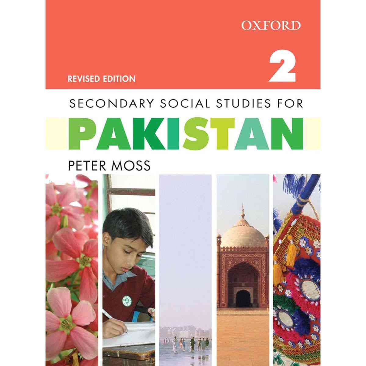 Oxford Books Secondary Social Studies For Pakistan Book 2 Revised Edition