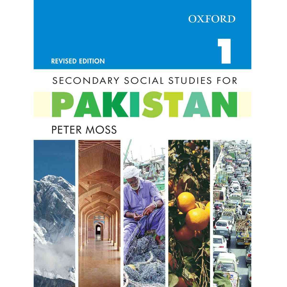 Oxford Books Secondary Social Studies For Pakistan Book 1