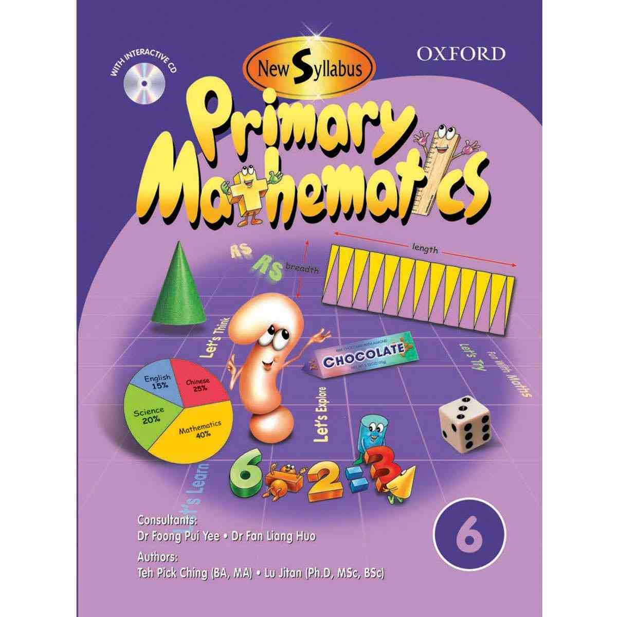 Oxford Books Syllabus Primary Mathematics Book 6 By Lu Jitan