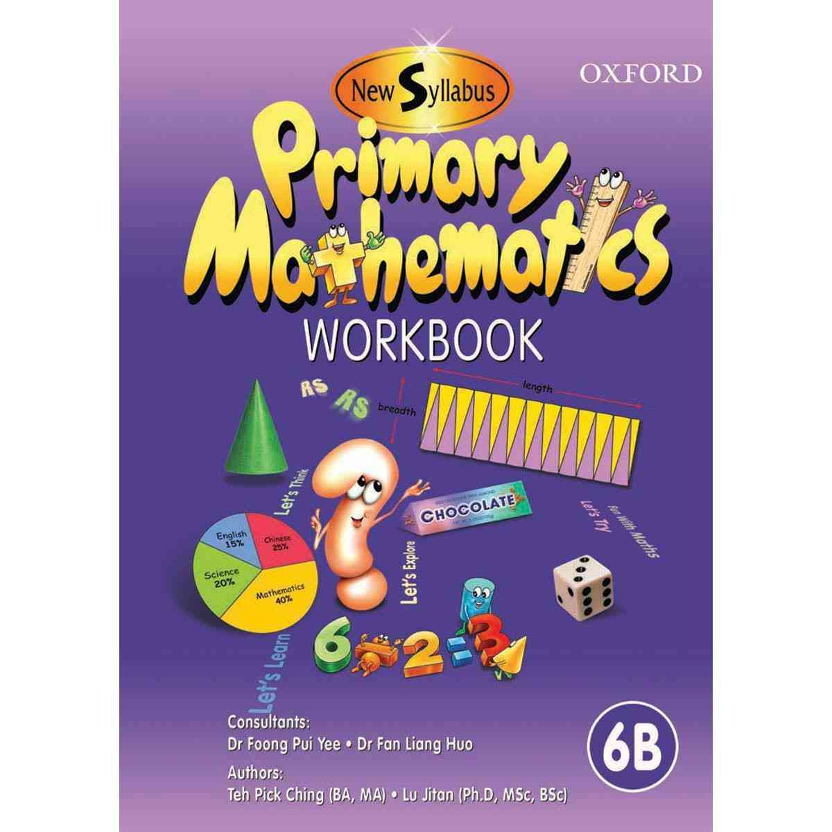 Oxford Books Syllabus Primary Mathematics Workbook 6B