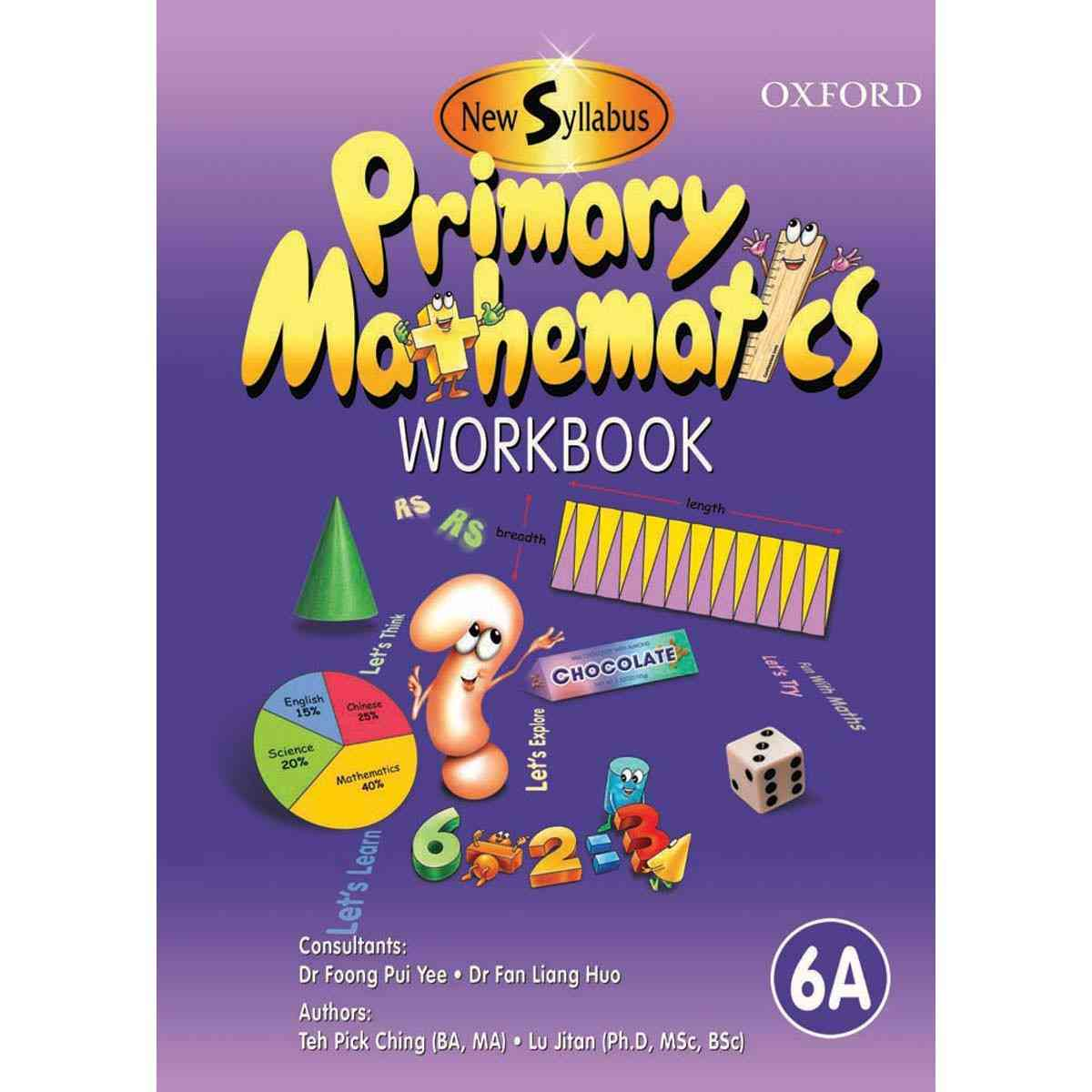 Oxford Books Syllabus Primary Mathematics Workbook