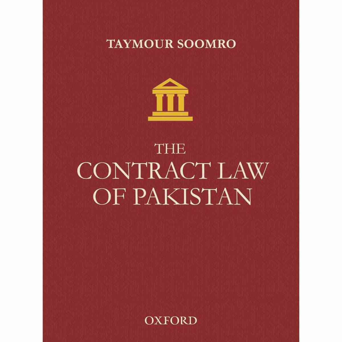 Oxford Books The Contract Law Of Pakistan