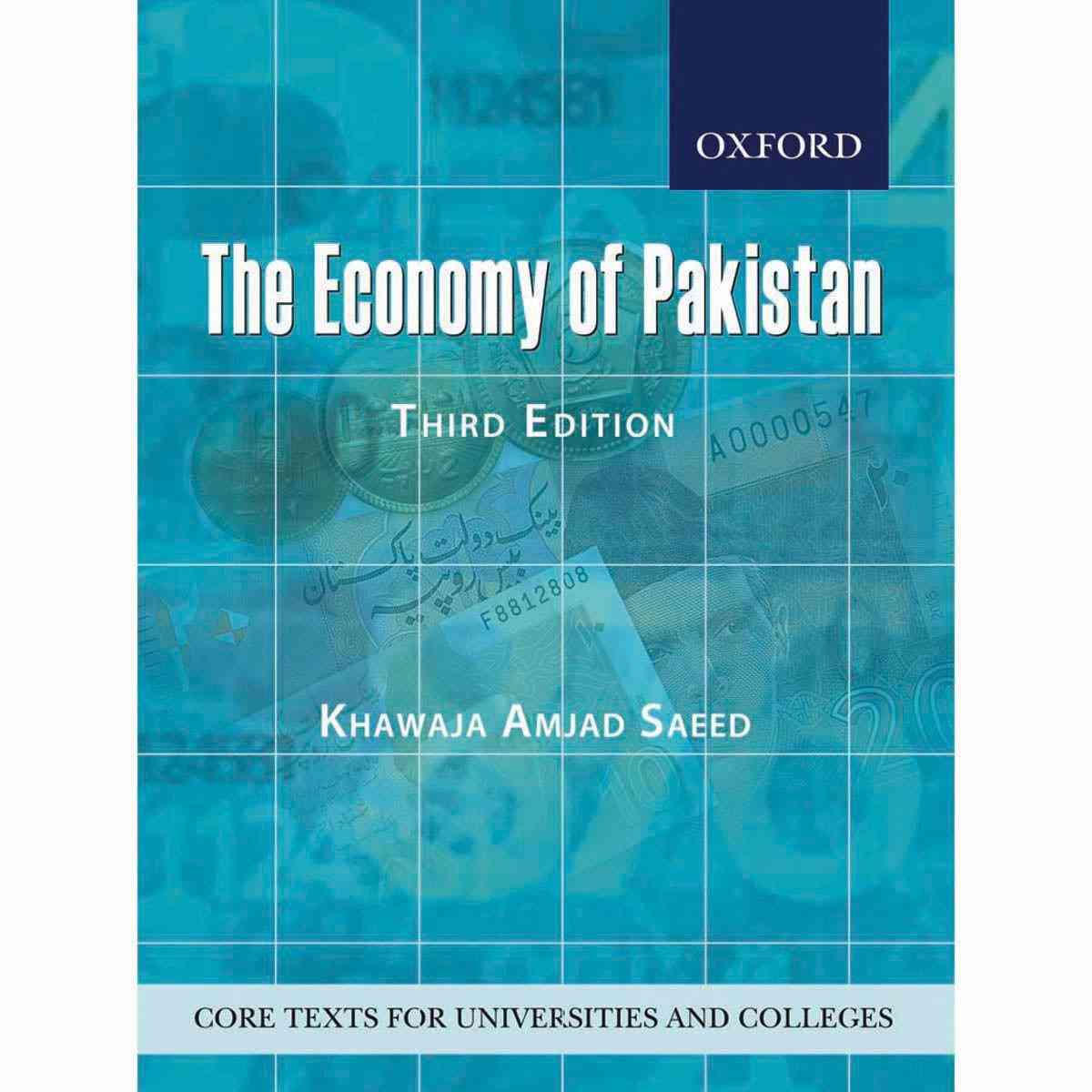 Oxford Books The Economy Of Pakistan Third Edition
