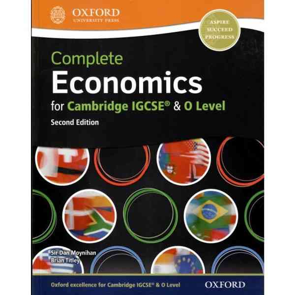 Oxford Complete Economics For IGCSE and O Level 2nd Edition For Class 8