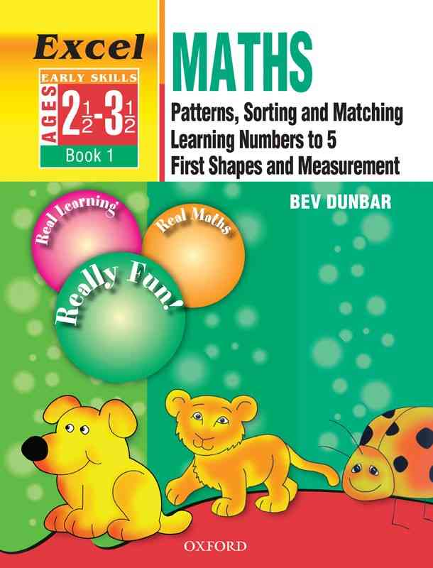 Oxford Excel Math Early Skills Book 1