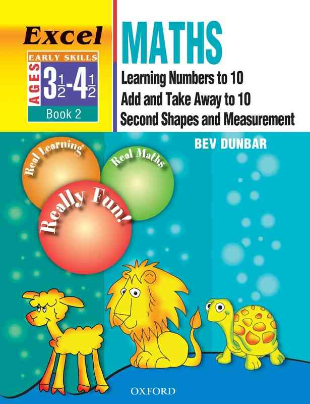 Oxford Excel Math Early Skills Book 2