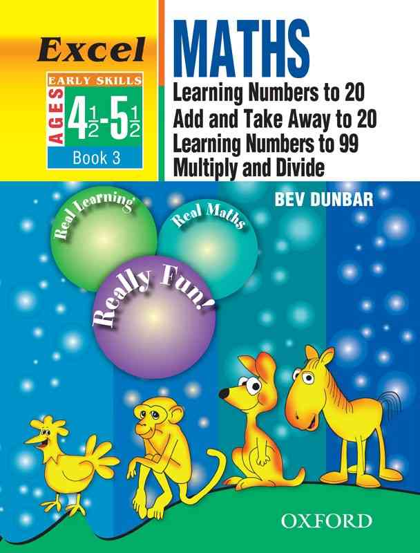 Oxford Excel Math Early Skills Book 3