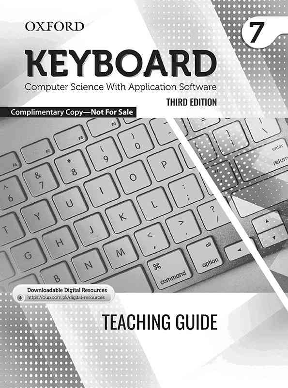 Oxford Keyboard Computer Science 7 3rd Edition