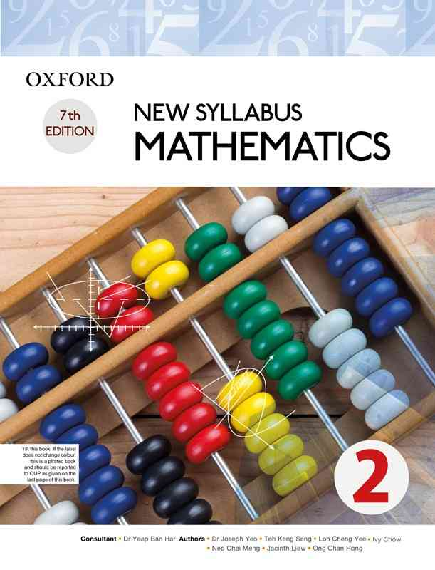 Oxford New Syllabus Mathematics Book 2  7th Edition  For Class 8
