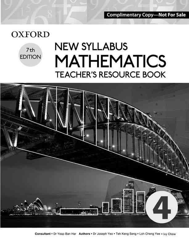 Oxford New Syllabus Mathematics Book 4 7th Edition