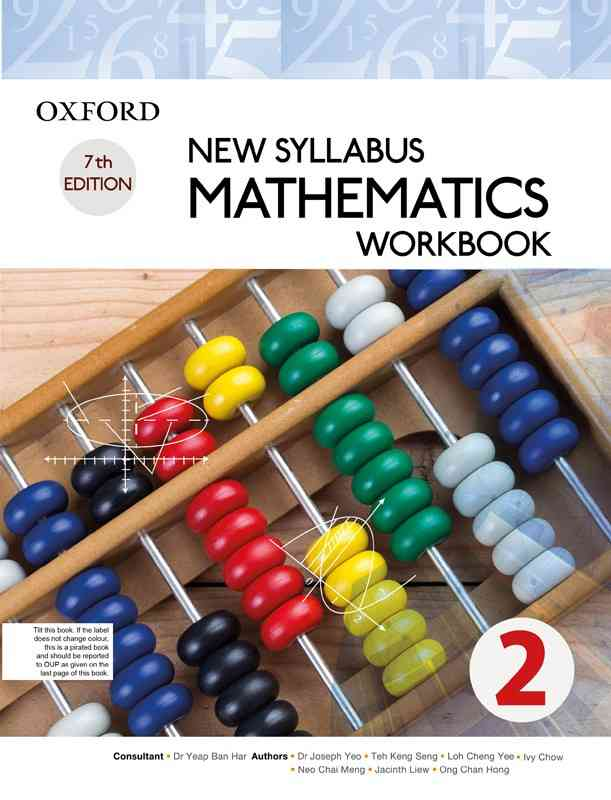 Oxford New Syllabus Mathematics Workbook 2