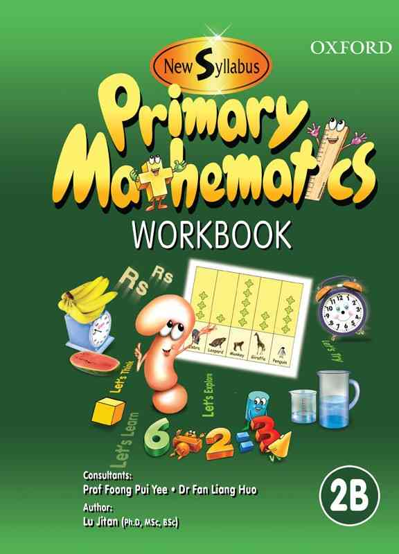 Oxford New Syllabus Primary Mathematics Workbook 2B