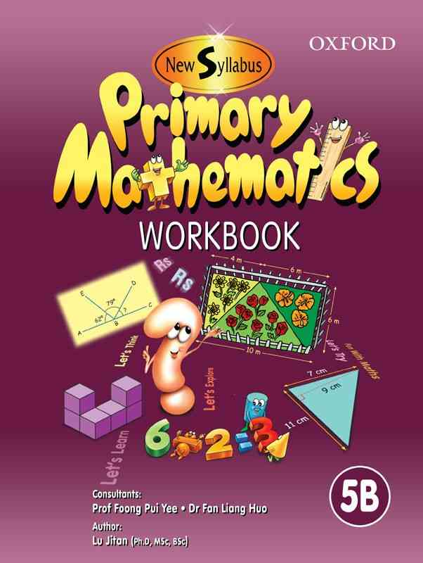 Oxford New Syllabus Primary Mathematics Workbook 5B