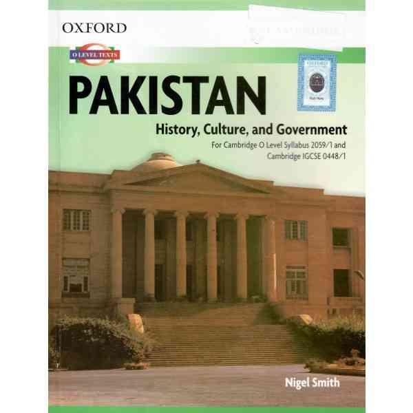 Oxford Pakistan History Culture And Government