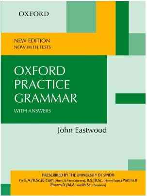 Oxford Practice Grammar University Of Sindh Edition