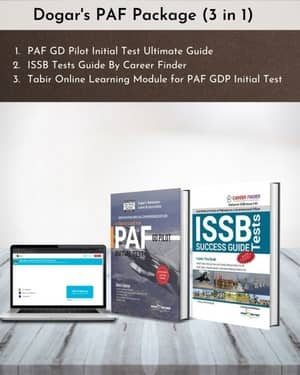 PAF GD Pilot Package 3 In 1