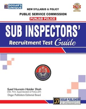 PPSC Sub Inspector R
