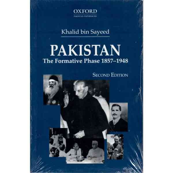 Pakistan, The Formative Phase, 1857 1948