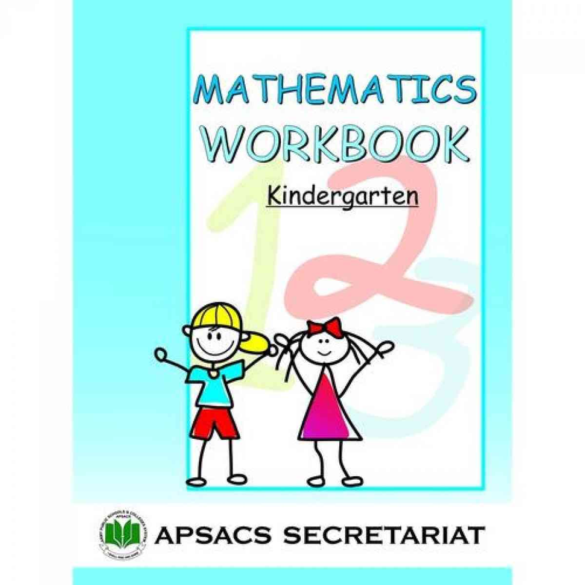 Paramount Apsacs: Maths Workbook For Kg
