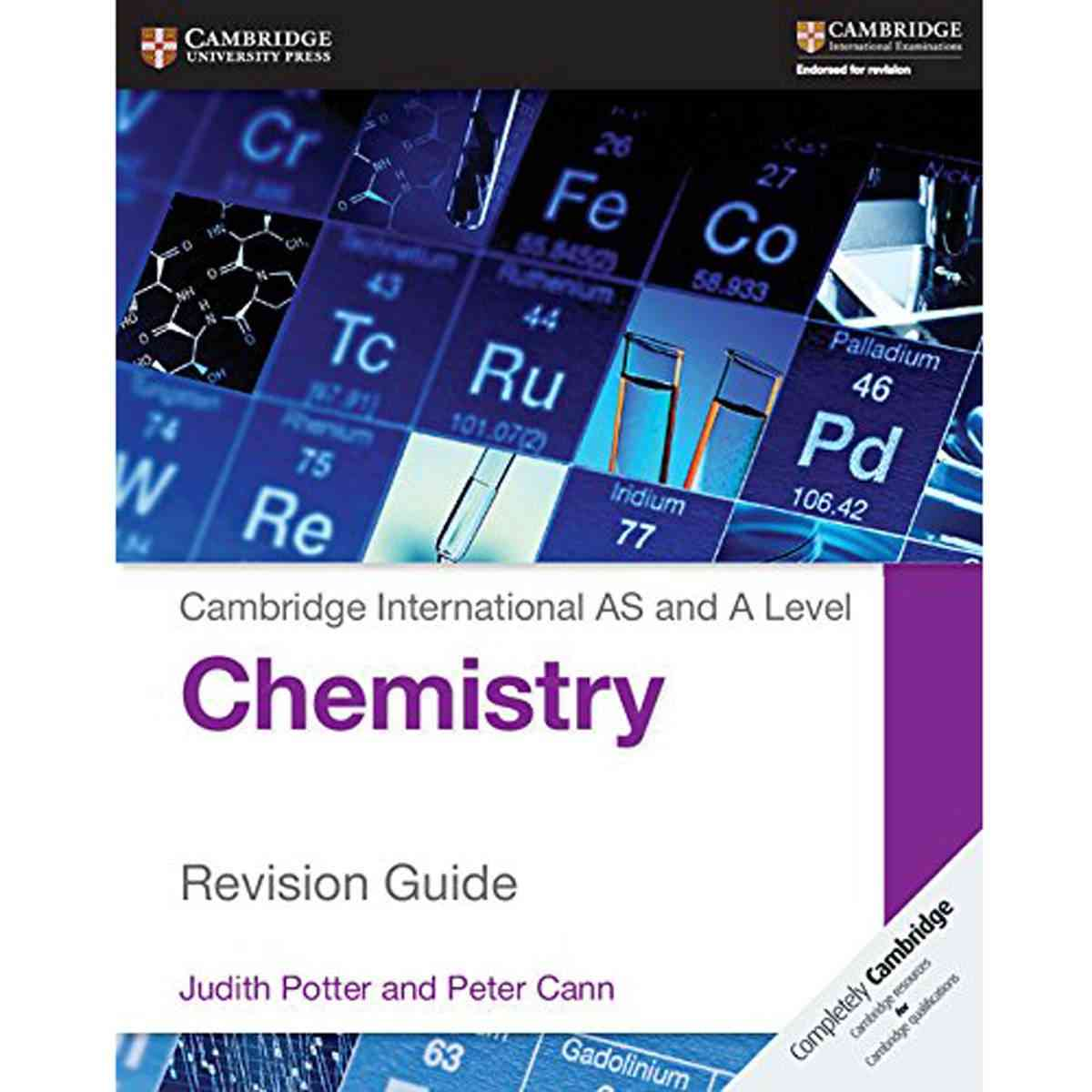Paramount CAMBRIDGE INTERNATIONAL AS AND A LEVEL CHEMISTRY REVISION GUIDE