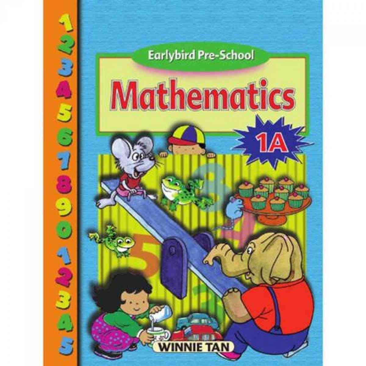Paramount Earlybird Pre School: Mathematics Book 1A