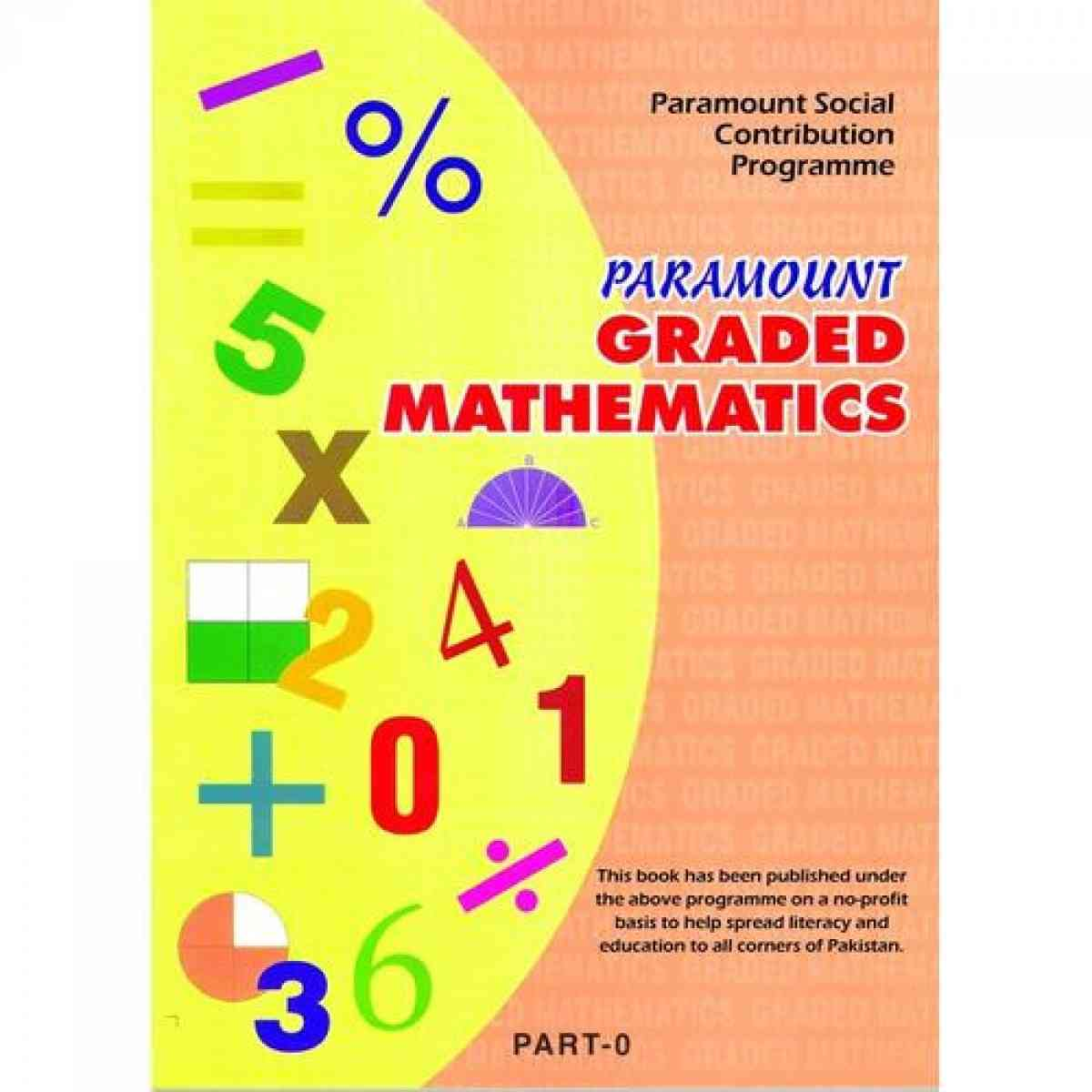 Paramount Graded Mathematics: Part 0