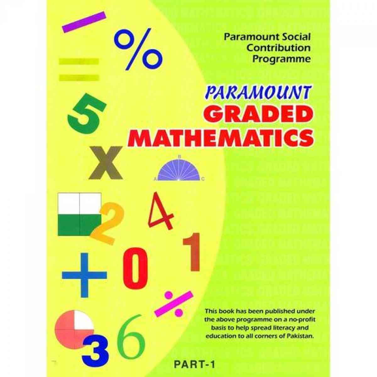 Paramount Graded Mathematics: Part 1