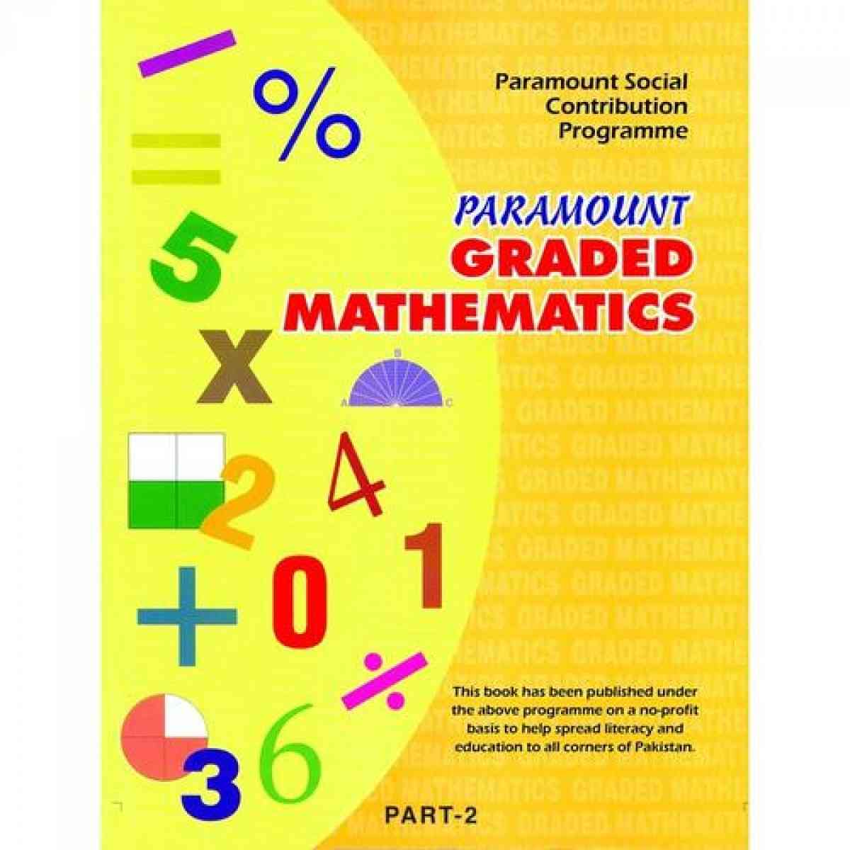 Paramount Graded Mathematics: Part 2