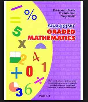 Paramount Graded Mathematics: Part 4