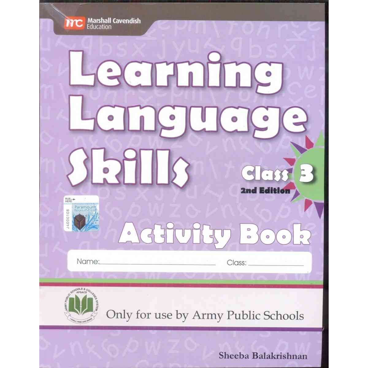 Paramount Learning Language Skills Activity Book 3