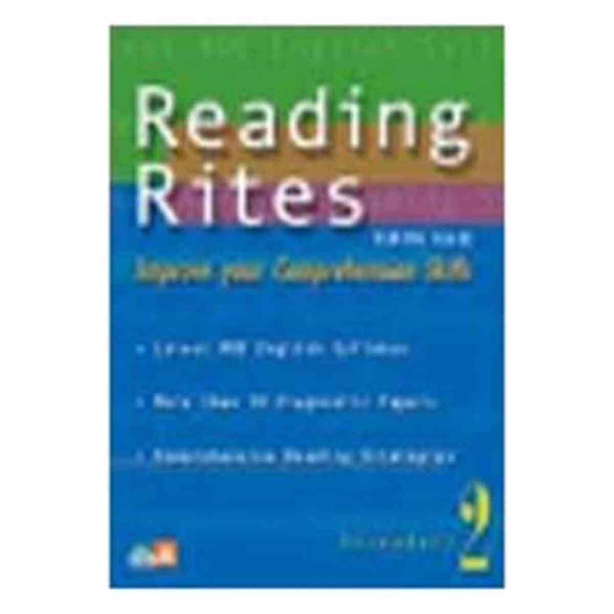Paramount Reading Rites Secondary: 2 Improve Your Comprehension Skills