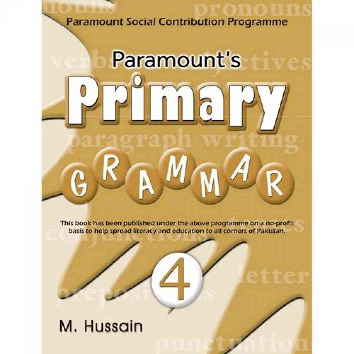 ParamountS Primary Grammar: Paramount Social Contribution Programme Book 4