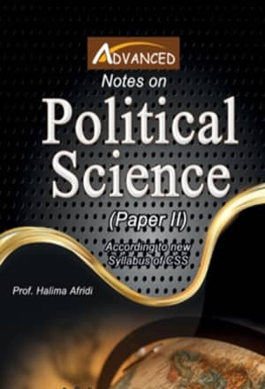 Political Science Paper 2 By Halima Afridi