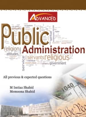 Public Administration For PMS By Imtiaz Shahid