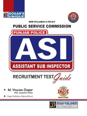 Public Service Commission Punjab Police ASI By Dogars
