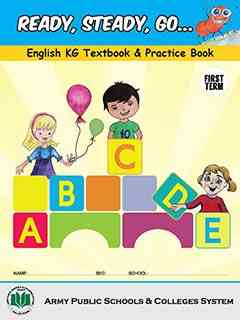 Ready Steady Go English KG Textbook and Practice Book 1st Term