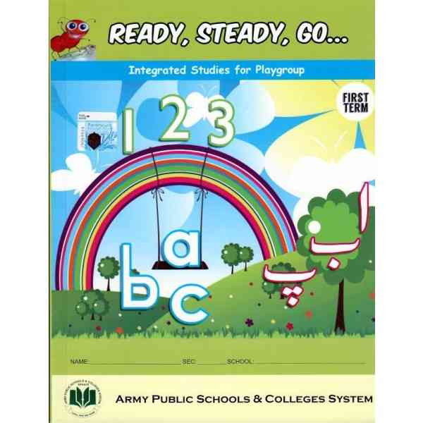 Ready Steady Go Integrated Studies For Playgroup 1st Term