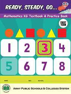 Ready Steady Go Mathematics KG Textbook and Practice Book 1st Term