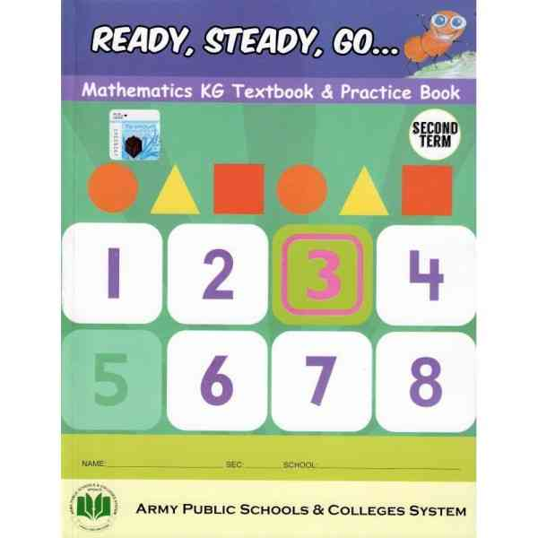 Ready Steady Go Mathematics KG Textbook and Practice Book 2nd Term