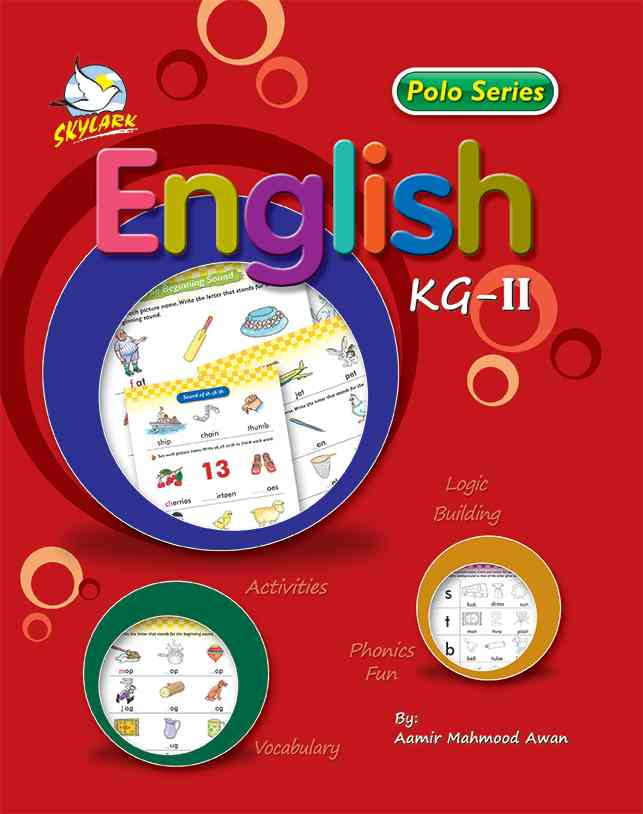 Sky Lark Polo Series English For K G 1