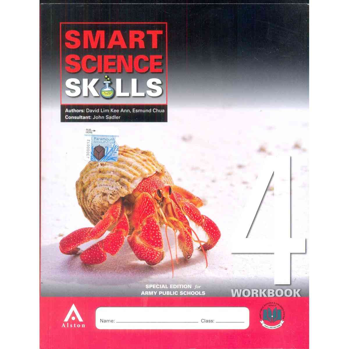 Smart Science Skills Workbook 4