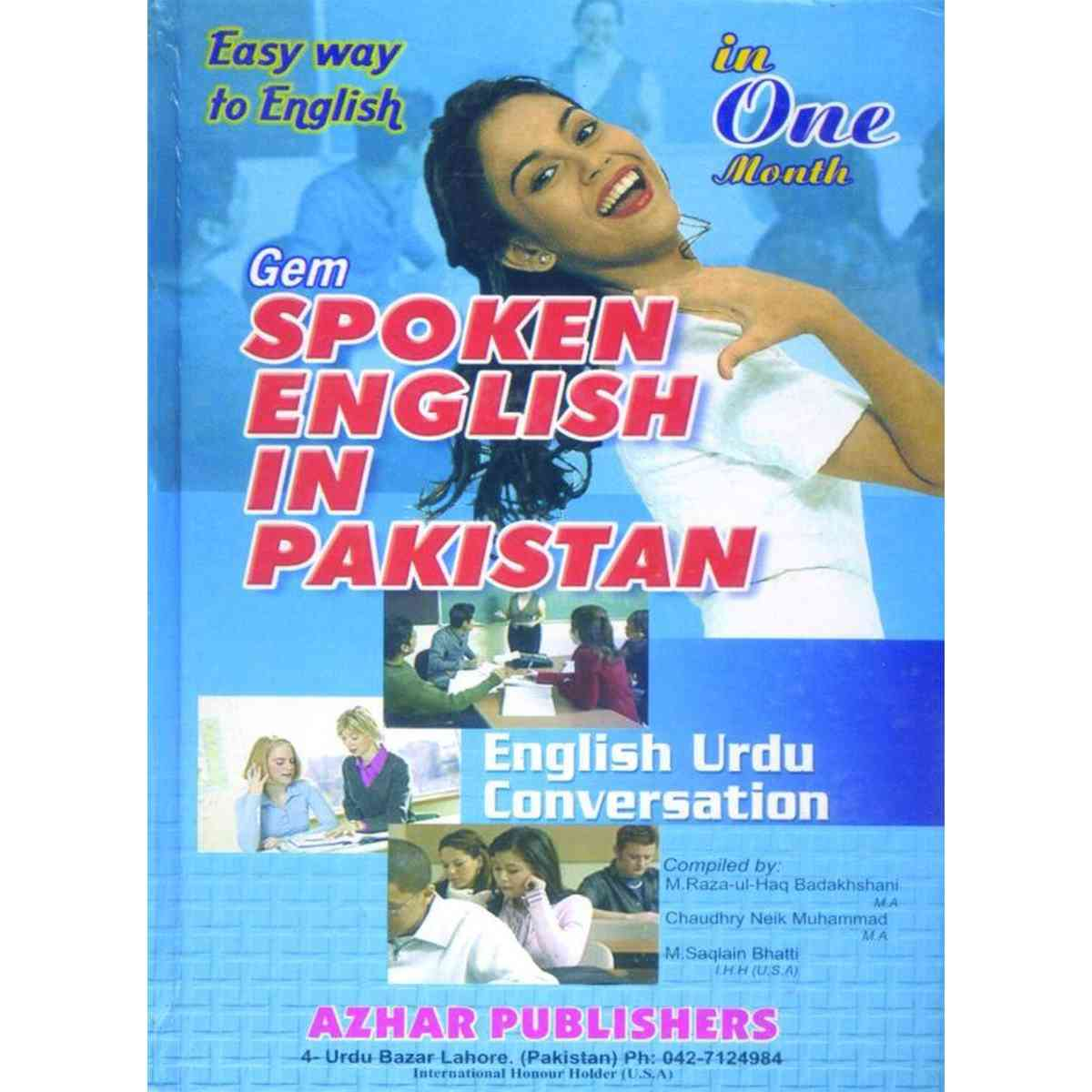 Spoken English In Pakistan In 1 Months