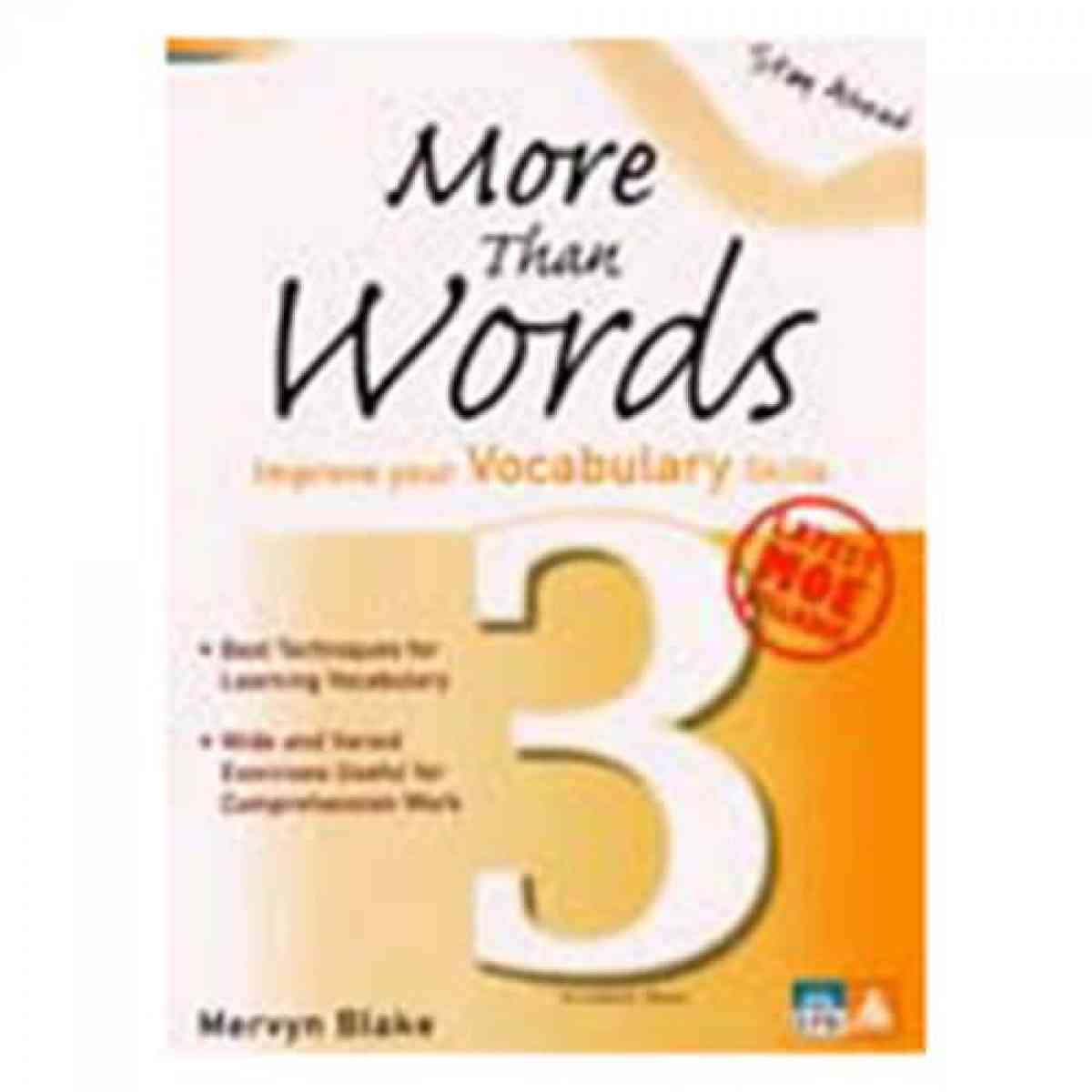 Stay Ahead: More Than Words Secondary 3 Improve Your Vocabulary Skills